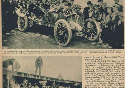 1 1906 06 05 les ''AS'' du volant. A. Duray, 1er Circuit des Ardennes, Targa Florio, 8ème GP ACF. 1