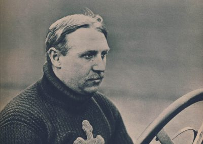 1 1908 05 05 Arthur Duray, 1er au GP des Ardennes sur Lorraine Dietrich