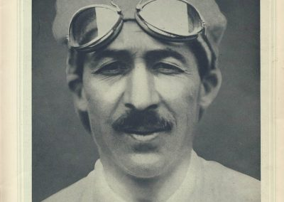 1 1924 01 08 Revue ''Très Sport'' la Galerie des Champions. Portrait de Goux en pilote. 1