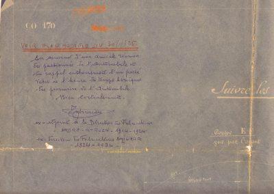 1 1924 18 12 ''Bleu'' du Moteur ''Borgne'' remis à mon père et moi-même en 1965 par Monsieur Taboureau, Directeur des Fabrications ''Citroën'' de 1914 à 1923 et ''Amilcar'' de 1924 à 1934