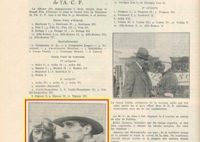 1 1924 31 12 André Morel et Gabriel Voisin. GP ACF 1