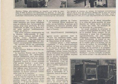 1 1926 10 08 Visite Usine Amilcar à St Denis (Paris). ''Le Pur sang de la route'', moteur ''Borgne'' au banc. 4