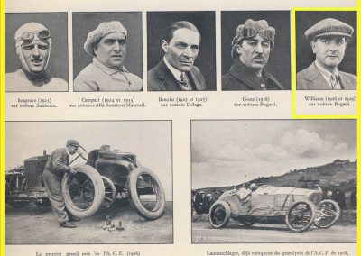 1 1928 01 07 GP ACF des voitures de Sport à Handicaps au Comminges. 1er Williams-Bugatti, 2ème Rousseau-Salmson . 3