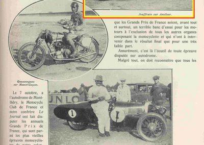 1 1928 07 10 GP de France MCF 1er Jeuffrain Amilcar C.6, ab Morel-(pneus) et Martin accidenté. Déclaré par le MCF Champion 1928 et 1927. 1