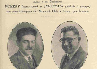 1 1928 07 10 GP de France MCF 1er Jeuffrain Amilcar C.6, ab Morel-(pneus) et Martin accidenté. Déclaré par le MCF Champion 1928 et 1927. 3