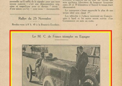 1923 20 10 GP de Penya Rhin 1er Divo Talbot 2000. le 28 10 GP d'Espagne 1er Divo sur Sunbeam 2000cc à 156 kmh. 1