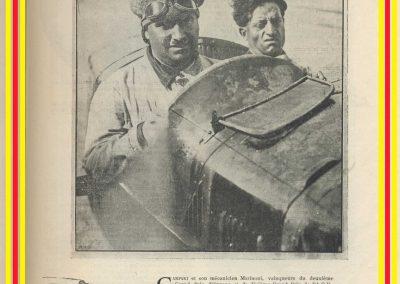 1924 03 08 le 2ème GP d'Europe, 1er Campari ALFA, 2ème Divo Delage, 3ème Benoist, 6ème Thomas sur Delage, 7et 8ème Chassagne et Frederich sur Bugatti. 5