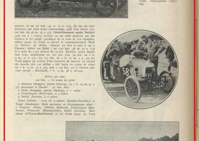1924 12 10 Inauguration Autodrome Montlhéry. GP de France, 1er 2ème Goutte et Casse-Salmson. Dhome-Morgan. Les 4 Austin. 4