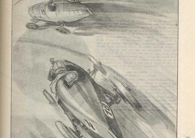 1924 12 10 Inauguration Autodrome Montlhéry. GP de France, 1er Goutte, 2ème et Casse-Salmson. Un déjanté. 3_