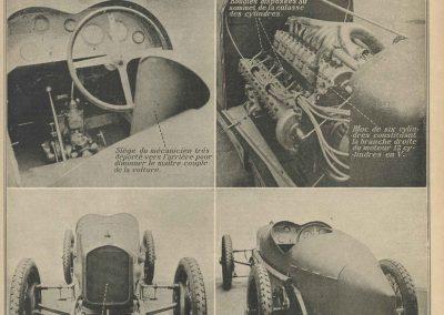 1924 Nouvelle Delage 2000cc, V 12, 2 ACT par rangée de cylindres, compresseurs (souffleur). 1