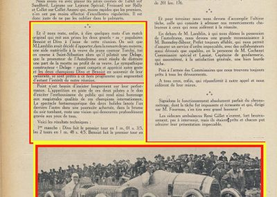 1925 10 03 GP France Match - 1er Benoist, 2ème Divo à 201 kmh