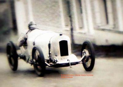 1925 18 10 Côte de Gaillon Sainte Barbe (21ème), 9% de pente, Morel Amilcar CO, le km D.A. en 34' 3-5''à 104,046 km-h. 2