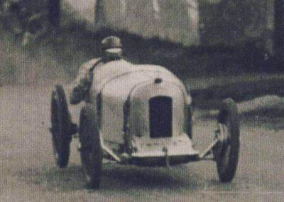1925 18 10 Côte de Gaillon Sainte Barbe (21ème), 9% de pente, Morel Amilcar CO, le km D.A. en 34' 3-5''à 104,046 km-h. 3