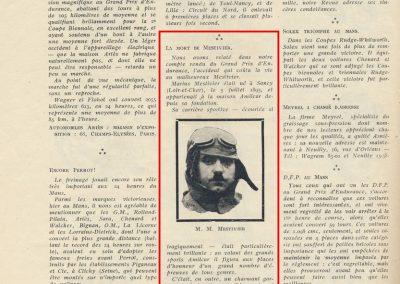 1925 21 06 24h du Mans DC Marius Mestivier et Mattys 1