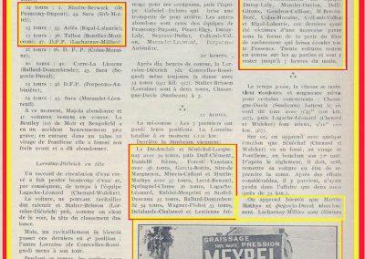 1925 21 06 GP d'Endurance de 24 heures du Mans. DC aux essais de Marius Mestivier. As du volant, très fin mécanicien et metteur au point Amilcar._