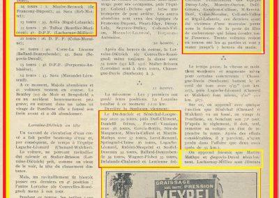 1925 21 06 les 24 heures du Mans, DC Marius Mestvier-Amilcar, ab. Martin, Duray, Moriceau... 1
