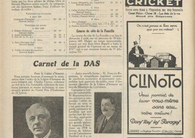 1925 26 07 le Mont Ventoux 1er Divo 16'45'', 2ème Benoist Delage 8000cc. de Victor Salmson 20'32''. 1