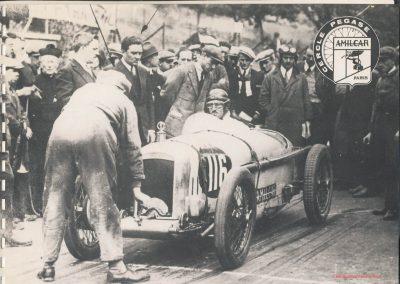 1926 03 10 Côte de Gaillon à 9% de pente, 1er Amilcar C.O. Morel le KM D.A. en 31'4-5 !. 2