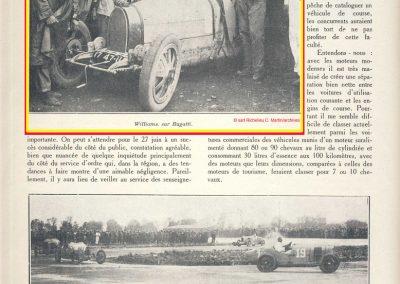 1926 03 28 GP Provence à Miramas, Coupe Hartford, 1er Williams-Bugatti 2000cc. 3