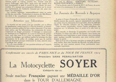1926 05 09 GP Europe à SPA Belgique 2