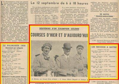 1926 05 09 GP Monza Goux, Bugatti et Sabipa. 1