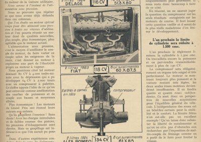 1926 06 03 GP Europe Compresseur, Suralimentation. 1