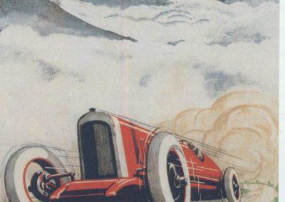 1926 07-08 08 Côte Internationale du Klausen (le Ventoux Suisse) GP de la Montagne 21,5 km. Amilcar 6 cyl. 1100 C.O. 1er Morel en 19'15''. 1