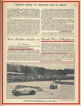 1926 07 08 GP Grande Bretagne Wagner-Sénéch. Delage Campbel Malcom Bug. Dubon-Benoist Delage 2