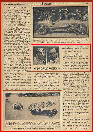 1926 07 08 GP Grande Bretagne Wagner-Sénéch. Delage Campbel Malcom Bug. Dubon-Benoist Delage 3