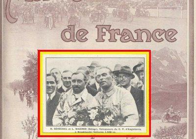1926 08 07 GP Grande Bretagne Sénéchal-Wagner 2