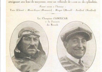 1926 09 05 Recordes à 200 km-h 1