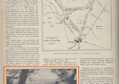 1926 09 05 Records Internationaux Arpajon, Morel, Amilcar C.O. 1100cc, bat le km lancé à 197,422 km-h (200 km-h), le Mile L. à 195 et le km arrêté à 126 avec Martin. 5