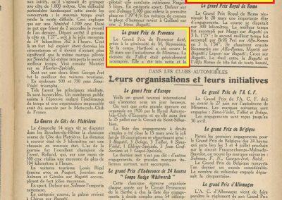 1926 15 04 GP de Provence, Amilcar, 1er et 2ème Morel et Martin 001
