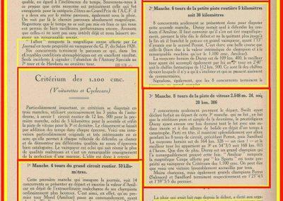 1926 17 10 Critérium des 1100, 1er Duray, Martin, ab Morel. Jeuffrain 3ème. GP du XXème Salon, 1er, Divo, Segrave 2ème et Moriceau 3ème tous sur nouvelles 1500 Talbot. 3