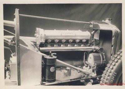 1926 17 10 Salon de l'Automobile (le 20ème), Présentation de l'Amilcar 1100cc, C. 6. cylindres Moteur à culasse démontable. 1