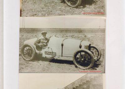 1926 17 10 XXe Salon, le Critérium, 3 C.O. 1100, 1er Duray, ab de Morel et Martin (radiateur percé). Jeuffrain 4e. Le GP, 1er Divo, 2e Segrave, Moriceau 3e sur les 3 Talbot 1500cc. 3