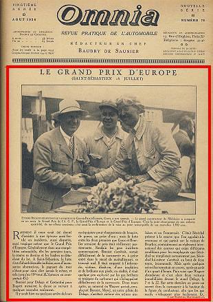 1926 18 07 GP d'Europe à St Séb Goux sur Bugatti 1