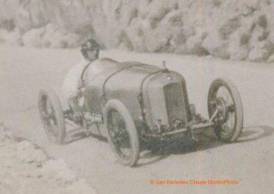 1926 22 02 Côte de la Mi-Corniche, 1km D.A., Amilcar C.O. 1er Morel en 37''1-5 à 121 km-h. 1