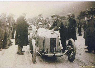 1926 24 01 Côte du Camp (à 4 km de Marseille) Amilcar CO, 1er Morel, 2e Martin.1