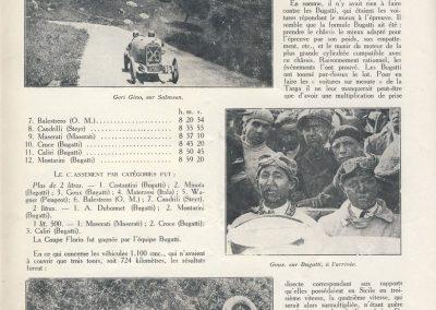 1926 25 04 Targa Florio 1400 virages 432 km (108 km x 4) 1