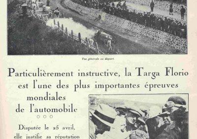 1926 25 04 Targa Floriot 1er Costantini-Bugatti, Borzachini-Salmson. 1