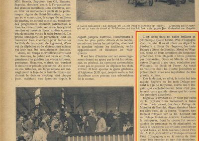 1926 25 07 GP Espagne 1 Costantini 2 Goux Bug 3 Wagber-Benoist Delage 3 ie