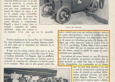1926 27 06 GP ACF et des voiturettes Miramas Coupe Hartford 1