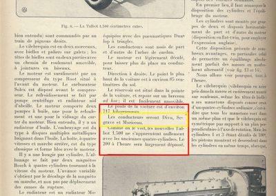 1926 27 06 GP F Miramas Talbot 1500