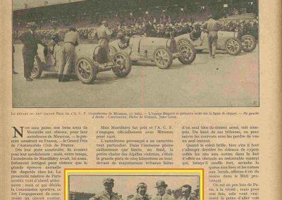 1926 27 06 GP de l'A.C.F. 1er Goux, 2ème Costantini, des Voit. légères 1er Casse Salmson. ab. Amilcar Morel, Martin et Duray ! .1