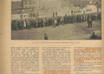 1926 27 06 GP de l'A.C.F. 1er Goux, 2ème Costantini, des Voit. légères 1er Casse Salmson. ab. Amilcar Morel, Martin et Duray ! .2