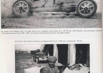 1926 27 06 GP de l'A.C.F. ( le 21ème, 1er Goux, 2ème Costantini-Bugatti. GP Voiturettes légères 1er Casse-Salmson. 1