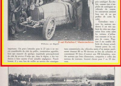 1926 28 03 GP Provence à Miramas. la Coupe Hartford des Voiturettes, Amilcar, 1er Morel n°5 et n°6, 2ème Martin. GP 1er Segrave, 2ème Moriceau Talbot, 3ème Williams, 4ème Chiron. 1