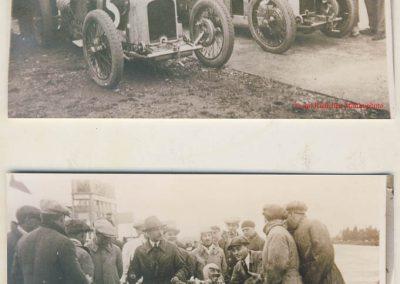1926 28 03 GP Provence à Miramas. la Coupe Hartford des Voiturettes, Amilcar, 1er Morel n°5 et n°6, 2ème Martin. GP 1er Segrave, 2ème Moriceau Talbot, 3ème Williams, 4ème Chiron. 4