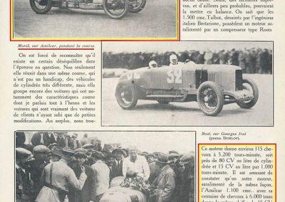 1926 28 03 GP Provence à Miramas. la Coupe Hartford des Voiturettes, Amilcar, 1er Morel n°5 et n°6, 2ème Martin. GP 1er Segrave, 2ème Moriceau Talbot, 3ème Williams, 4ème Chiron. 6